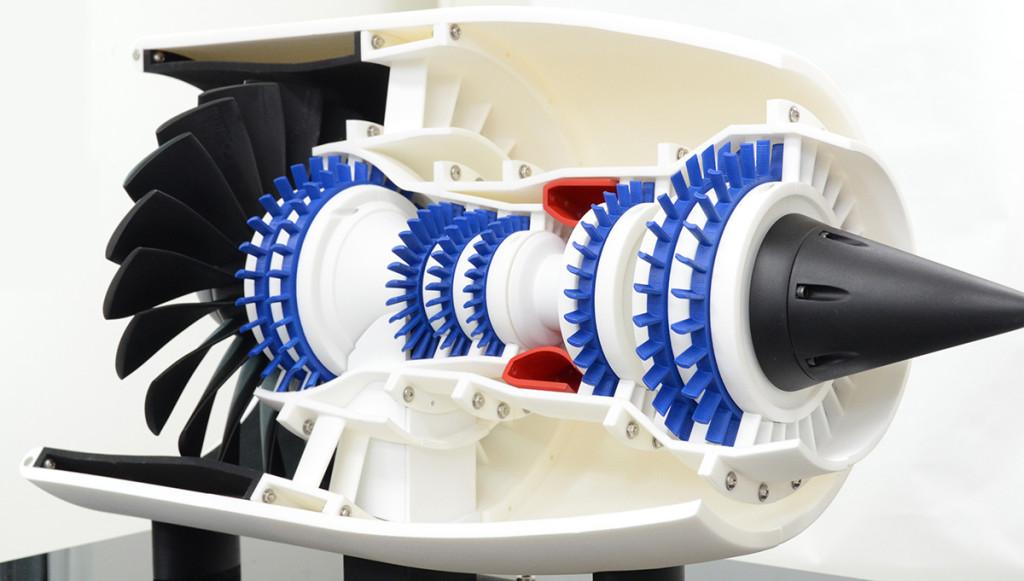 Shade3Dを使ったエンジン