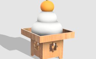 Fusion360で鏡餅を作る