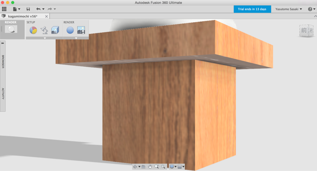 3DCADにillustratrのデータを読み込む2