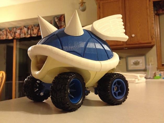 トゲゾー型のマリオカート