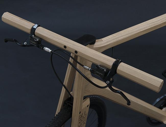 3Dプリンターで作った自転車