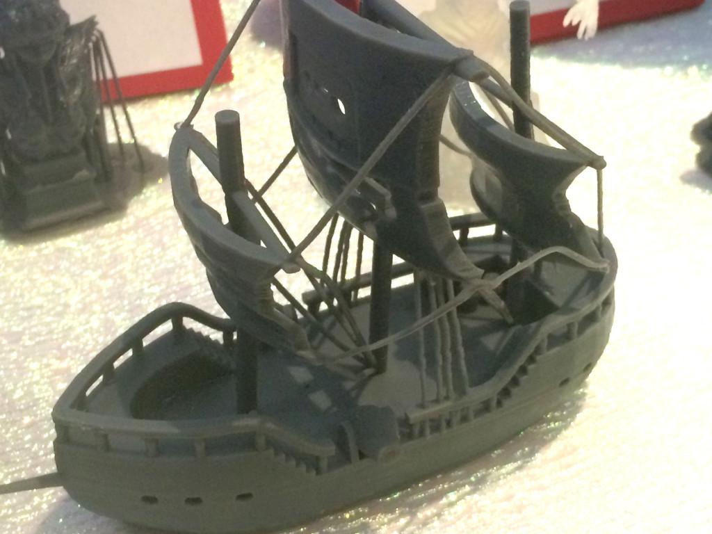 光学造形3Dプリンター Nobel1.0での造形物