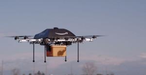 Amazonによる配送用ドローンの試作品の1つ 提供:Amazon