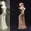 3Dプリンターで再現された縄文の女神