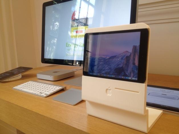 Mac風のiPadスタンド