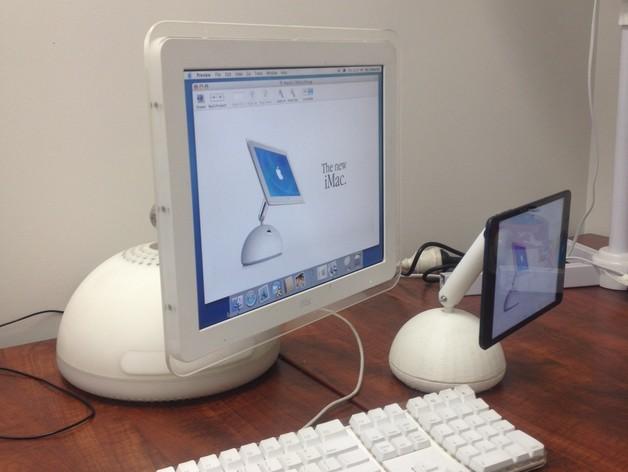 iMac風のデザインのiPadスタンド