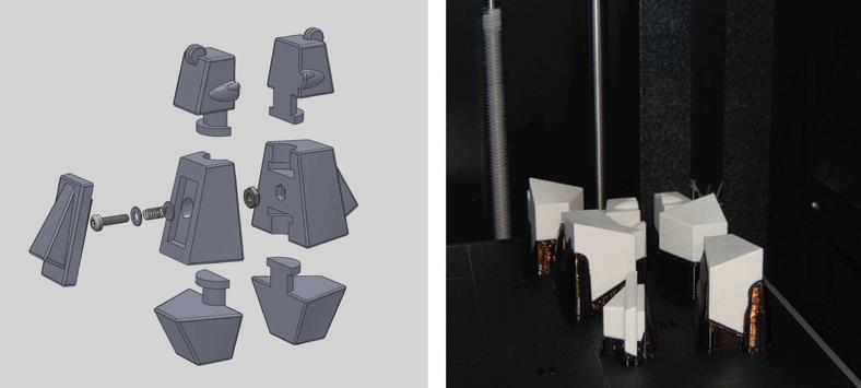 3DCADと、3Dプリンターで原型となるクマをプリント
