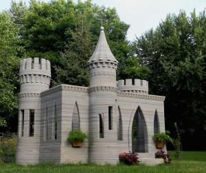 ミネソタで作られた3Dプリンターの城