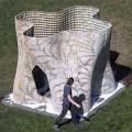 UCバークレーの3Dプリンターのパビリオン