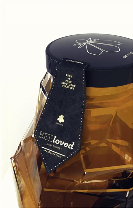 ミツバチのようなボトル