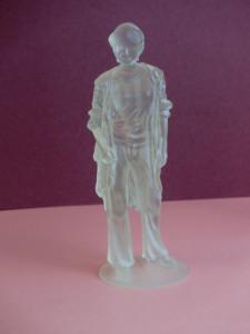 紫外線硬化型アクリル・プラスチックの3Dプリント1