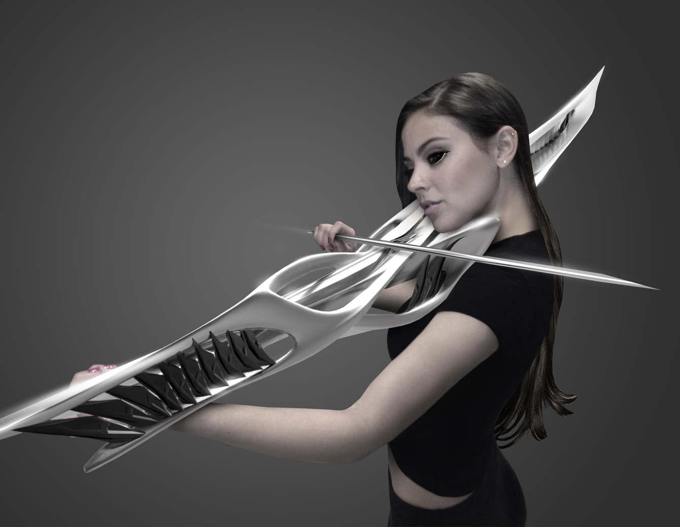 3Dプリンターで作られたバイオリン