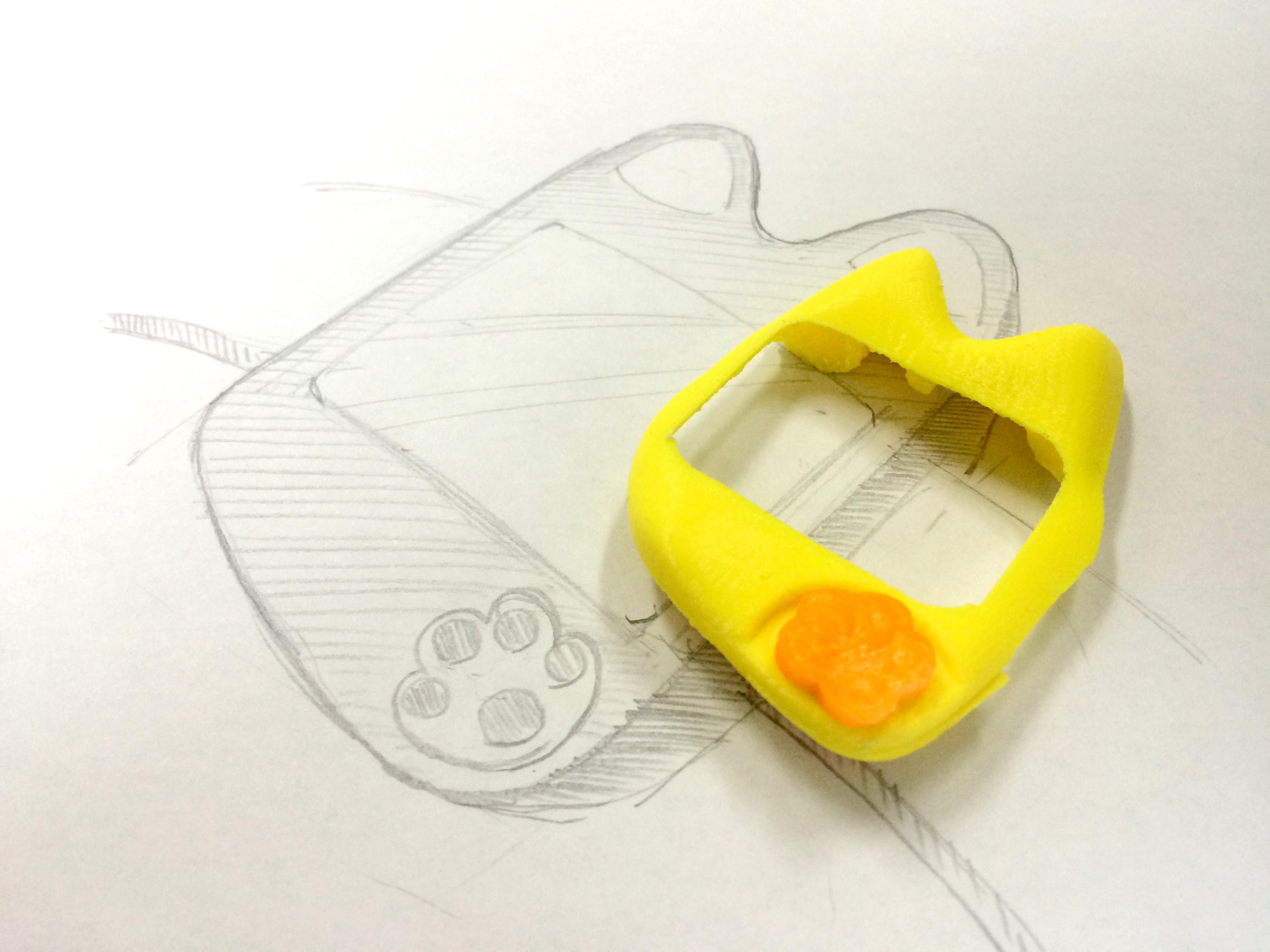 Apple Watchをイラストから作る