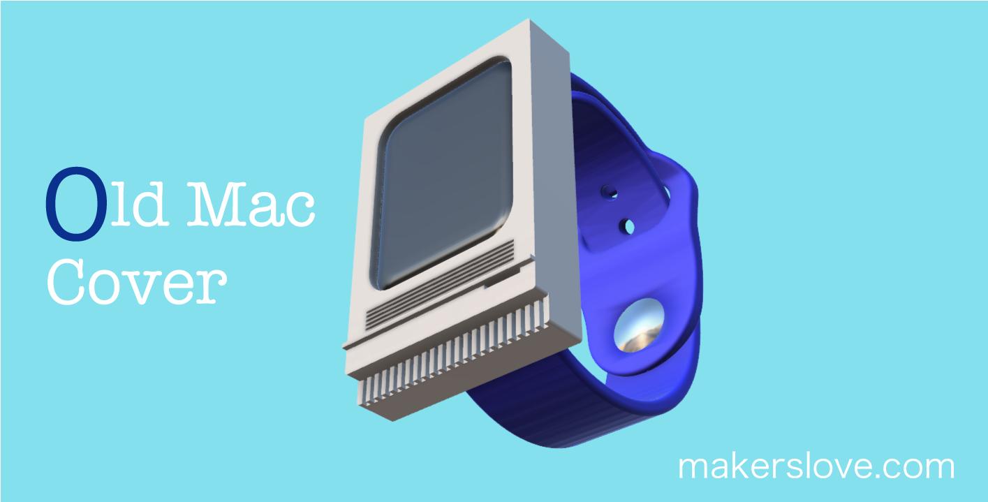 オールドマック型のApple Watchカバー