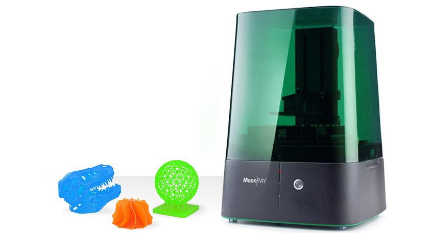 光造形3Dプリンター ムーンレイ