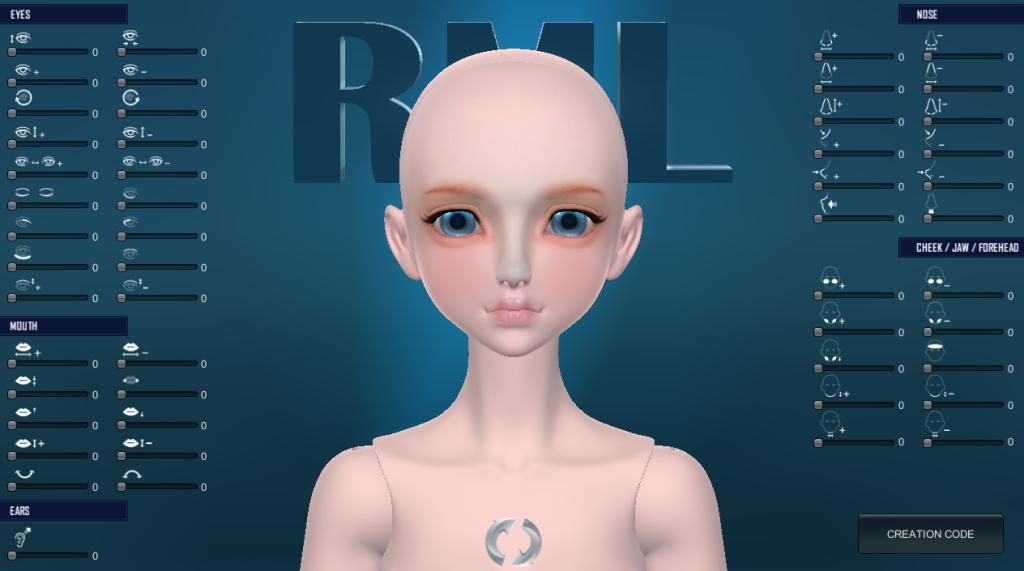 RML 3D FACEMAKER