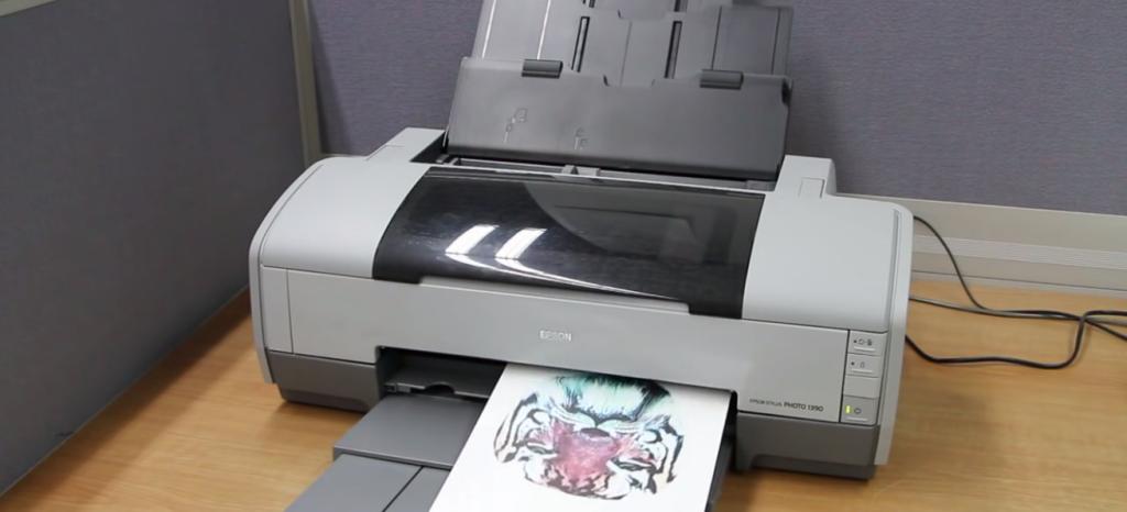 インクジェットプリンターで水溶性のPVAフィルムにプリント