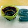 3Dプリンターで積層されたガラス容器 出典:Micron 3DP