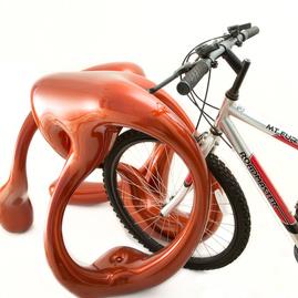 3Dプリントの自転車ラック