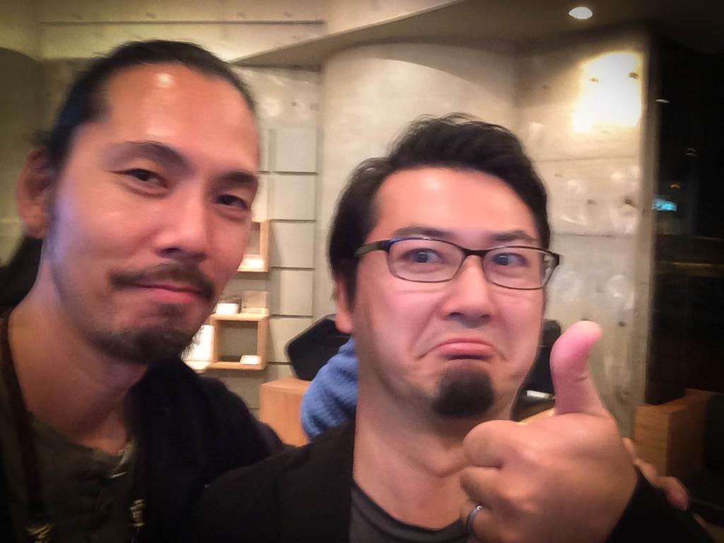 思いっきし手ブレしてますが、オートデスクの藤村さんです。