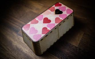 レーザーカッターの台形型ボックス