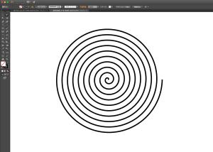 アルキメデス螺旋ができた