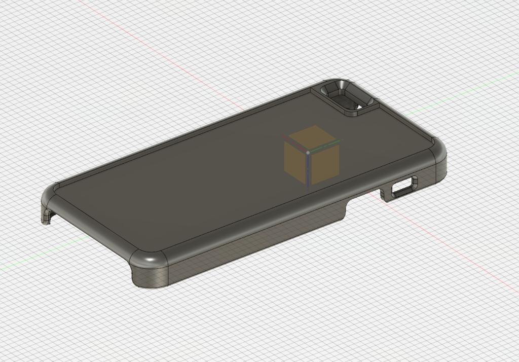Fusion360でiPhoneケースを作る