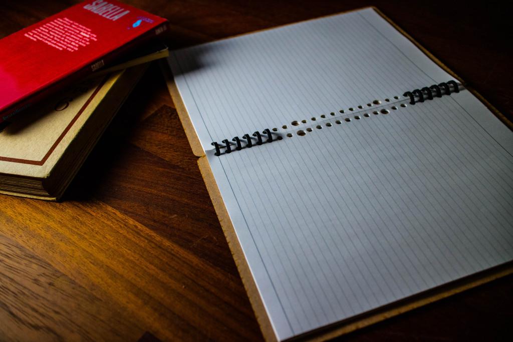 ノートカバーとしても十分使えそうな感じです