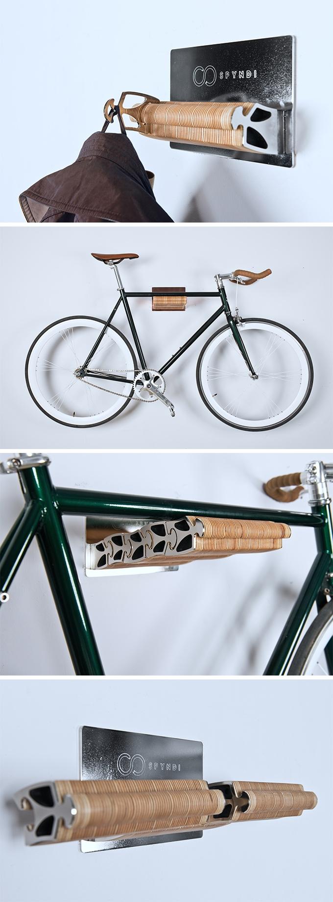 自転車の収納にも使える