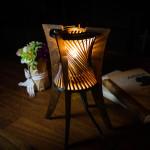 レーザーカッターの照明