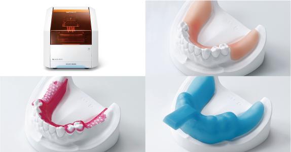 歯科用の3Dプリンター