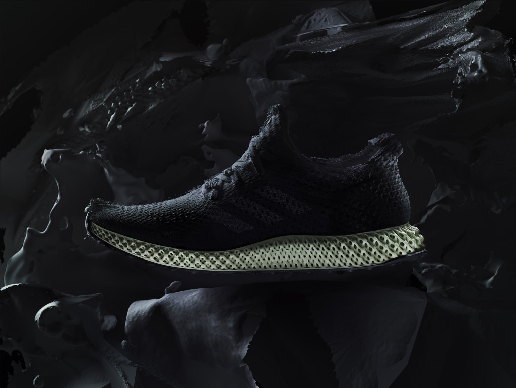 3Dプリントの靴「Futurecraft 4D」