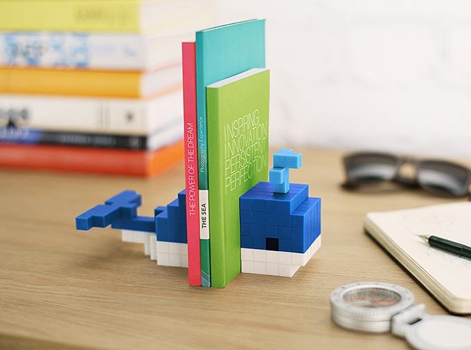 磁石の玩具PIXIOで作ったブックエンド