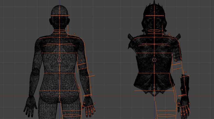 体を測定して、3Dモデルを作成