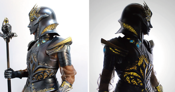 3Dプリントされた鎧