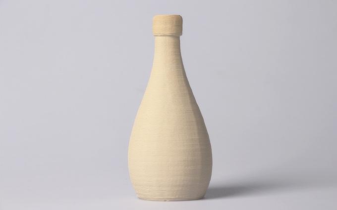 陶器の3Dプリンターの作品