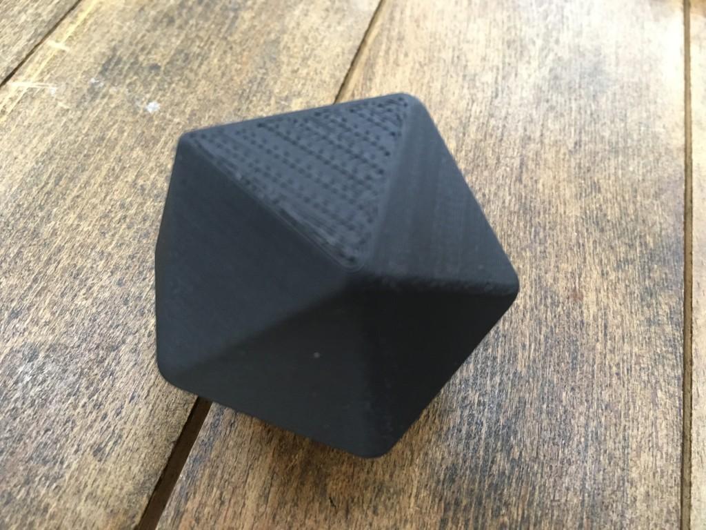 正二十面体のサイコロ