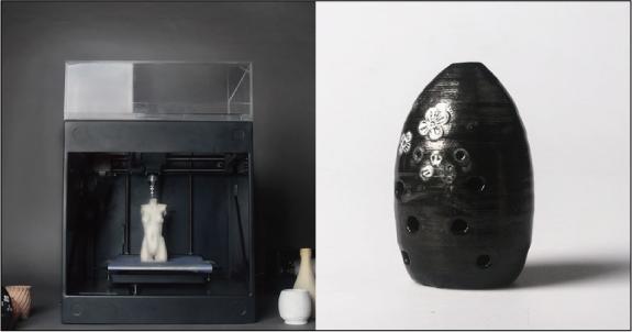 粘土の3Dプリンター