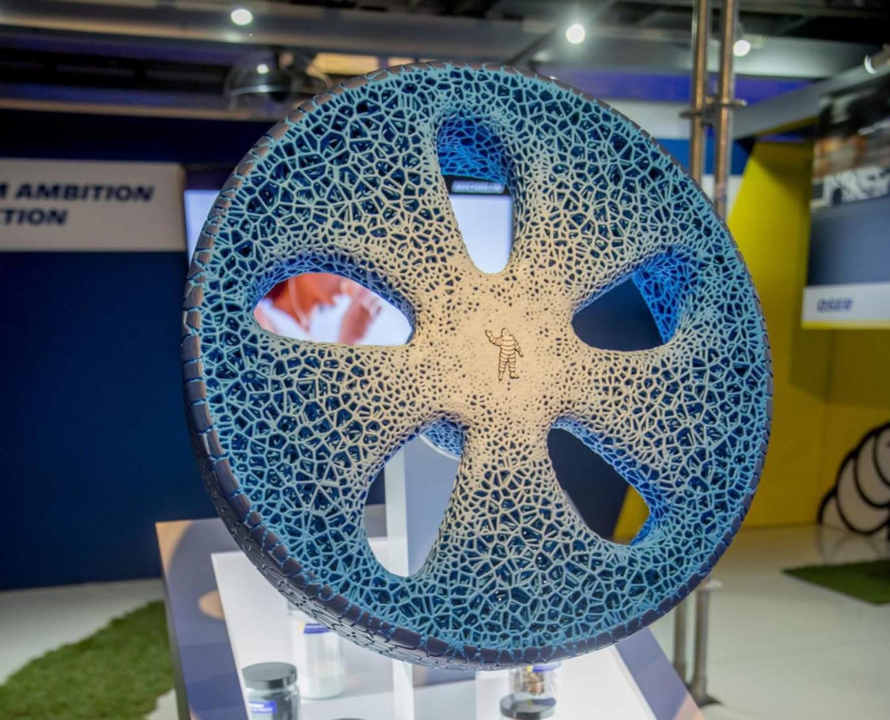 ミシュラン 3Dプリントタイヤ