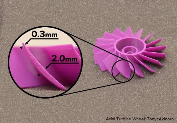Simplify3Dで0.3mmの造形を実現