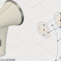 Fusion360の自由曲面でドライヤーを作る