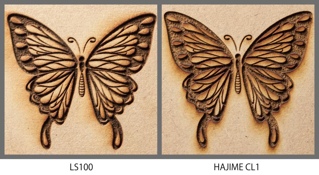 蝶_深彫り比較