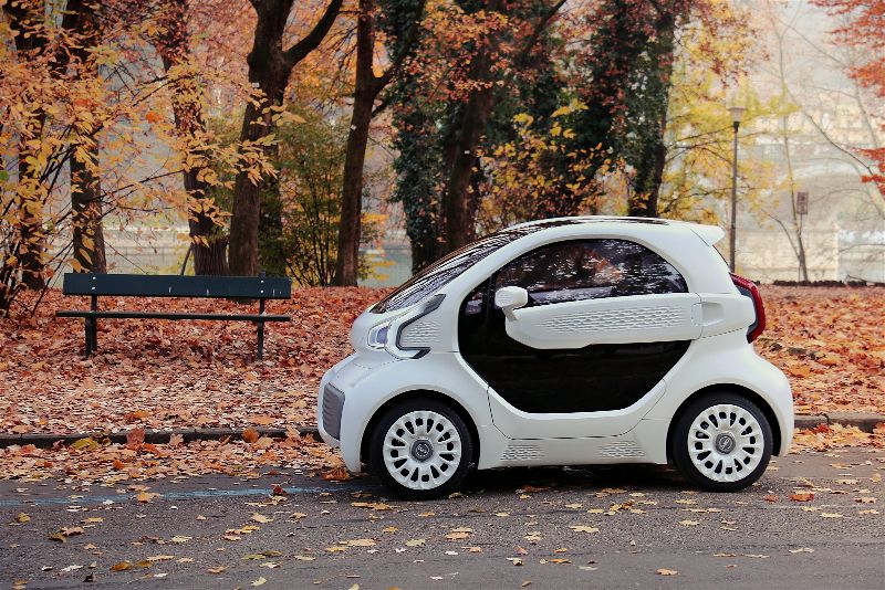 「LSEV」、世界初の量産型3Dプリント電気自動車