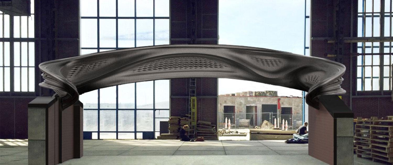 金属3Dプリント橋