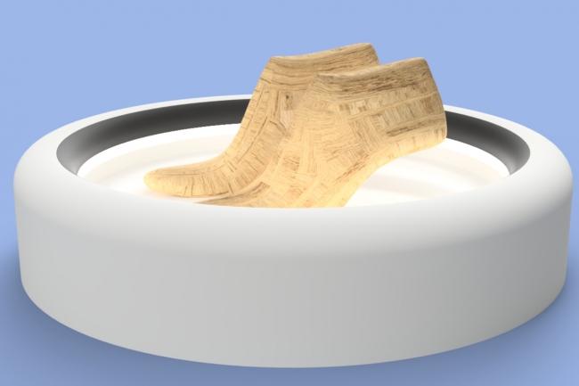 コンセプト:足に合う靴の元になる木型を産み出すためのIoT デバイス