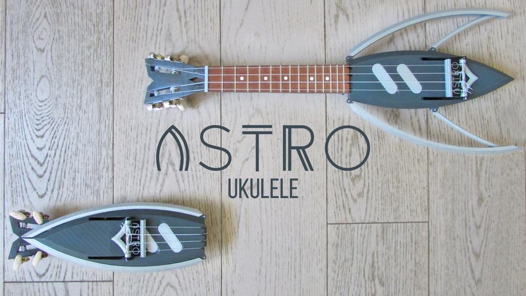 「Astro」は折りたたみ式のウクレレ