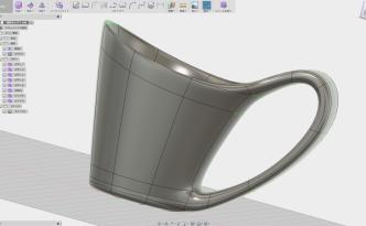 Fusion360のスカルプトでコーヒーカップを作る