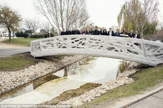 3Dプリントの橋