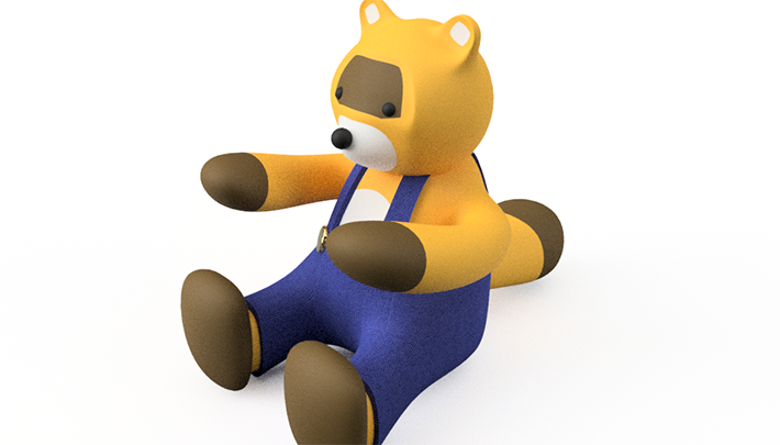 Fusion360のスカルプトでキャラクター作り