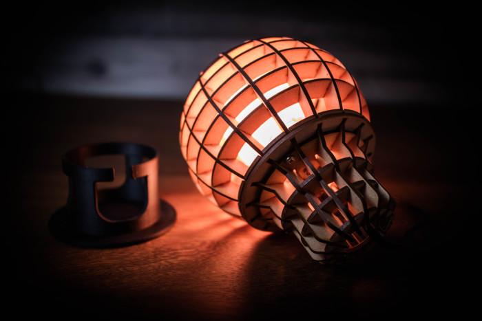 3Dプリンターとレーザーカッター の組み合わせ